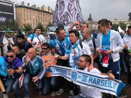 Les Marseillais se sont plutôt bien comportés dans l'ensemble - LyonMag