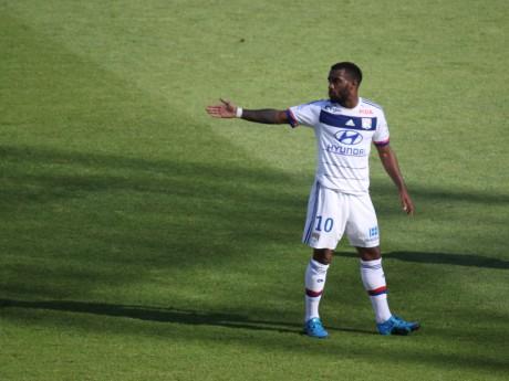 Alexandre Lacazette n'a toujours pas marqué son premier but de la saison - LyonMag