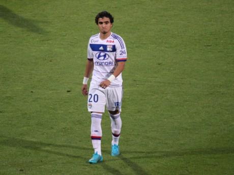 Rafael, aligné en attaque, n'a rien pu faire face au Zenith - LyonMag