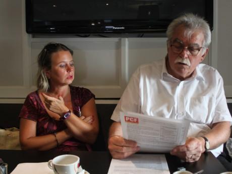 Cécile Cukierman et André Chassaigne - LyonMag