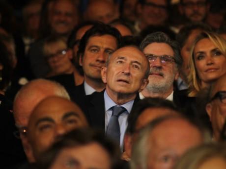 Gérard Collomb au sein du public du Festival Lumière - LyonMag
