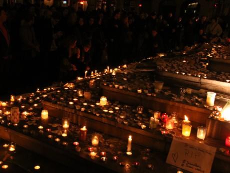Les hommages des Lyonnais aux victimes des attentats de Paris - LyonMag