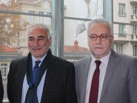 Georges Képénékian, futur nouveau maire de Lyon, et Jean-Yves Sécheresse - LyonMag