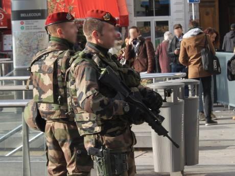 Des militaires dans le cadre de l'opération Sentinelle - LyonMag