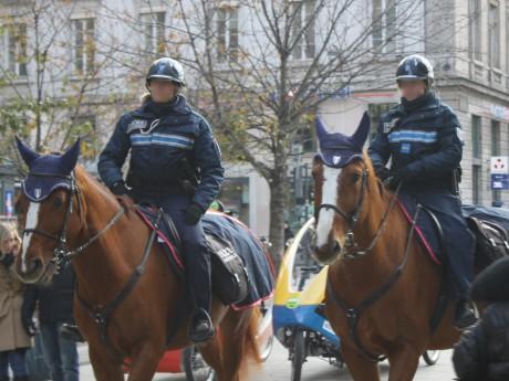 La police montée de Lyon - LyonMag