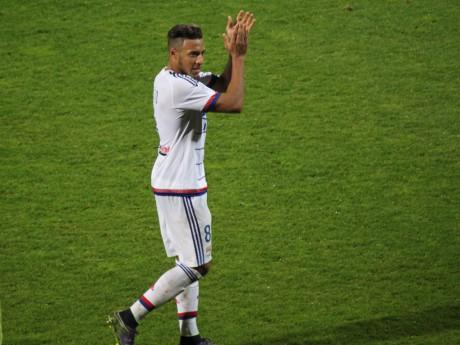 Corentin Tolisso a inscrit le seul but lyonnais de la rencontre - LyonMag
