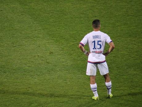 Jérémy Morel a pris l'eau, comme toute la défense en seconde période - LyonMag