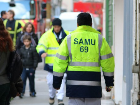 Douze personnes du Samu ainsi qu'une centaine de pompiers avaient été dépêchés sur place - LyonMag