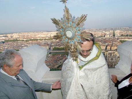 Le cardinal Barbarin, lors du voeu des Echevins - LyonMag