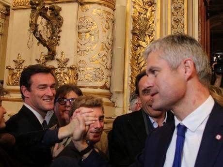 Michel Havard et Laurent Wauquiez - LyonMag