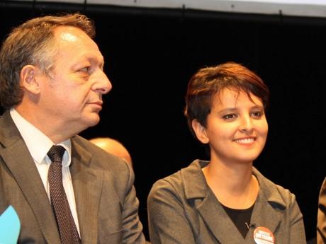 Thierry Braillard et Najat Vallaud-Belkacem - LyonMag