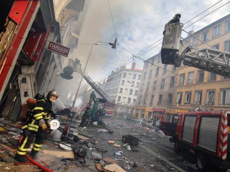 L'explosion du cours Lafayette - Archives LyonMag