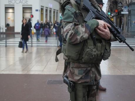 Un militaire de l'Opération Sentinelle - LyonMag.com