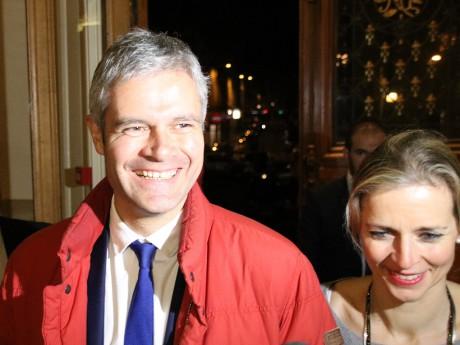Laurent Wauquiez et sa femme Charlotte - LyonMag