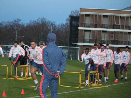 L'OL à l'entraînement - LyonMag