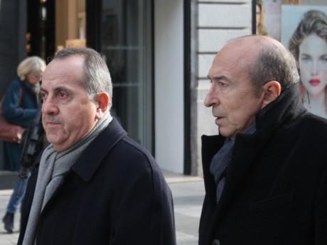 Le préfet du Rhône et Gérard Collomb - LyonMag