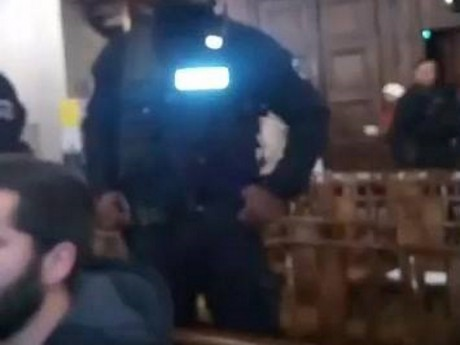 Intervention de la police à Saint-Irénée - Capture d'écran DR