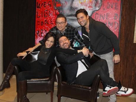 Fabienne Carat, Jean-Marc Généreux, Chris Marques et Olivier Dion - LyonMag