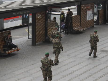 Le suspect avait évoqué un attentat à la Part-Dieu, où se concentrent une gare et un centre commercial - LyonMag