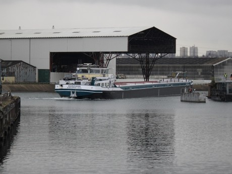 Le port Edouard-Herriot dans le 7e arrondissement de Lyon - LyonMag