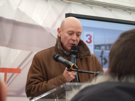 Philippe Bernand, DG de l'aéroport, passe ses journées en cellule de crise - DR