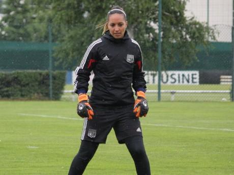 Sarah Bouhaddi à l'entraînement - LyonMag