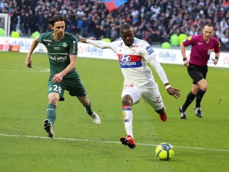 Tanguy Ndombele, ici face à Saint-Etienne - LyonMag