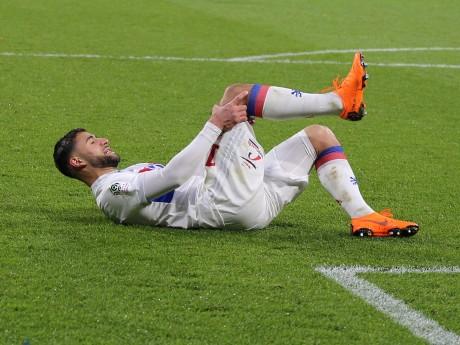 Nabil Fekir s'est blessé lors du derby - LyonMag.com