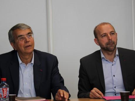 Jean-Jack Queyranne et Jean-François Debat - LyonMag