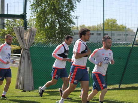 Les Lyonnais à l'entraînement - LyonMag
