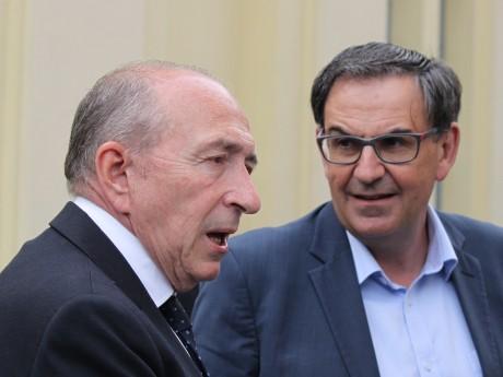 Gérard Collomb et David Kimelfeld - LyonMag