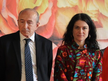 Gérard Collomb et Nathalie Perrin-Gilbert - LyonMag