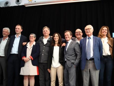 Ensemble des députés LREM et MoDem du Rhône (Jean-Luc Fugit et Danièle Cazarian absents) - LyonMag