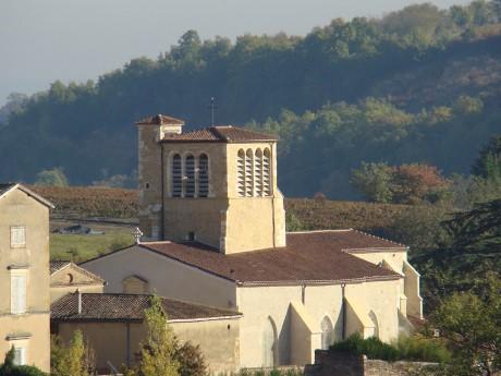 L'église de feu Liergues - DR