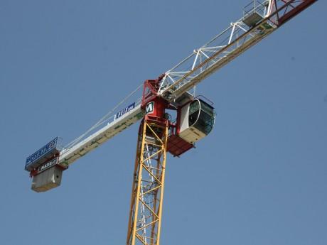 Grue de chantier - LyonMag
