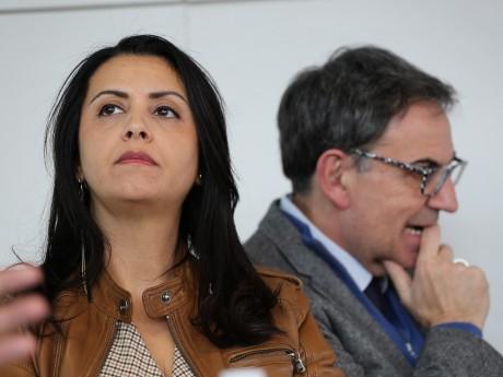 Fouziya Bouzerda et David Kimelfed - LyonMag