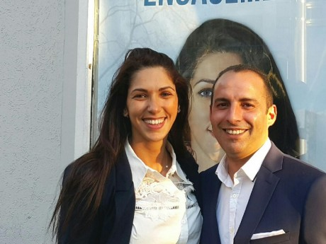 Emmanuelle Haziza et Aimad Mensour - LyonMag