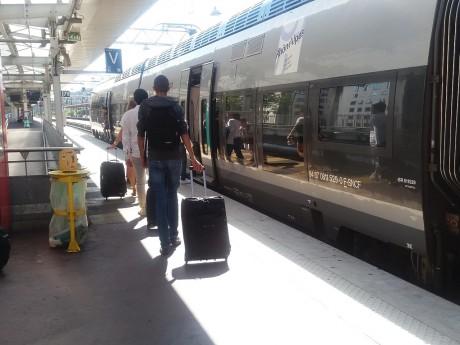 Le quai de la gare de la Part-Dieu - LyonMag