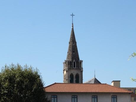 Le clocher de l'église de Gerland - LyonMag