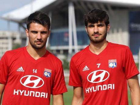 Léo Dubois et Martin Terrier poursuivent leur préparation avec Lyon - LyonMag