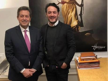 Georges Fenech et David Koubbi - DR