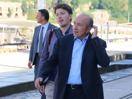 Arthur Empereur et Gérard Collomb - LyonMag