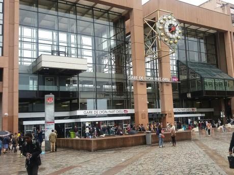 L'homicide s'est déroulé à deux pas de la gare vendredi soir - LyonMag