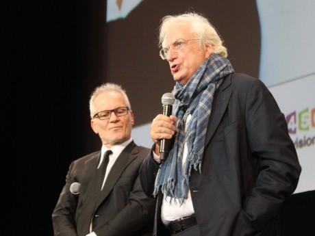 Thierry Frémaux et Bertrand Tavernier - LyonMag