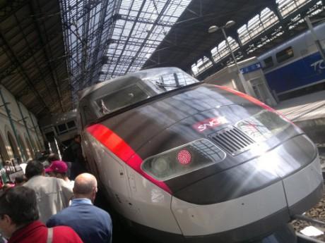 Le TGV qui a inauguré en 1981 la ligne Paris-Lyon - Photo LyonMag