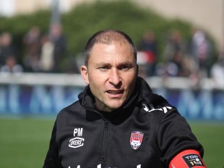 Pierre Mignoni n'a pas goûté la prestation de ses joueurs - LyonMag