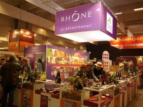 Le stand du département du Rhône - LyonMag