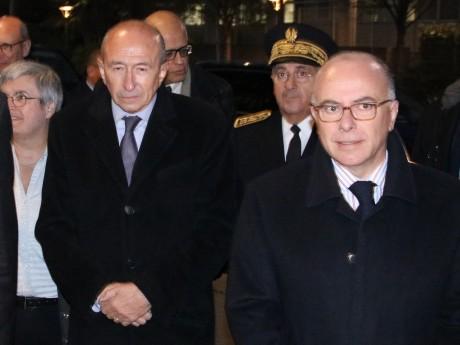 Gérard Collomb et Bernard Cazeneuve - LyonMag
