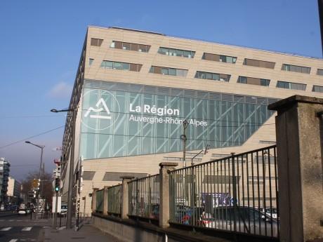 Le siège de la Région à Lyon - LyonMag