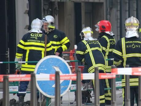 Les pompiers et les équipes de GRDF étaient sur place - LyonMag
